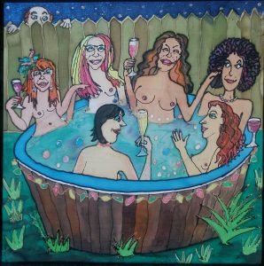 Hot Tub Ladies